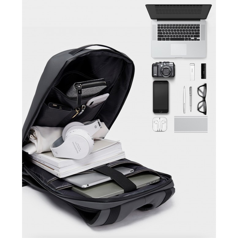 Мужской рюкзак Bange (BGS22188 Gray) с USB Серый