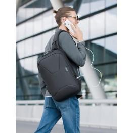 Мужской рюкзак Bange (BGS22188 Black) с USB Черный