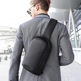Рюкзак с одной лямкой Bange (BGS7221-Black) с USB Черный