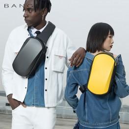 Рюкзак с одной лямкой Bange (BGS7256-Yellow) с USB Желтый