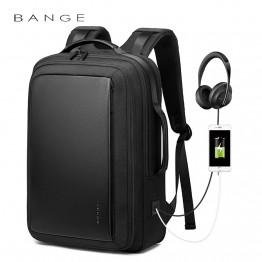 Классический деловой мужской рюкзак Bange (BGS56) с USB Черный