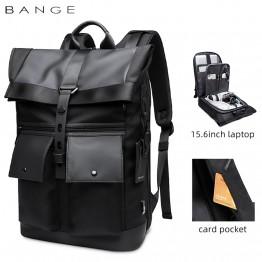 Мужской рюкзак Rolltop Bange (G65) Черный