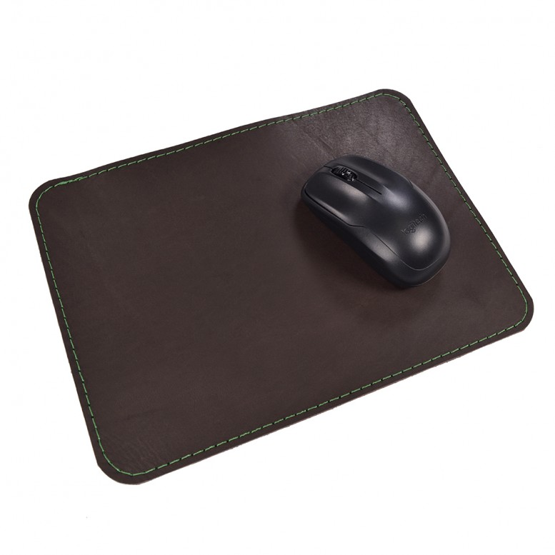 Кожаный коврик для мыши Leather Craft (cover10) Темно-коричневый