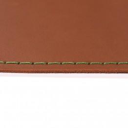 Кожаный коврик для мыши Leather Craft (cover11) Коричневый