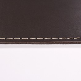 Кожаный коврик для мыши Leather Craft (cover1) Темно-коричневый