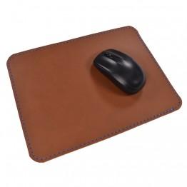 Кожаный коврик для мыши Leather Craft (cover12) Коричневый