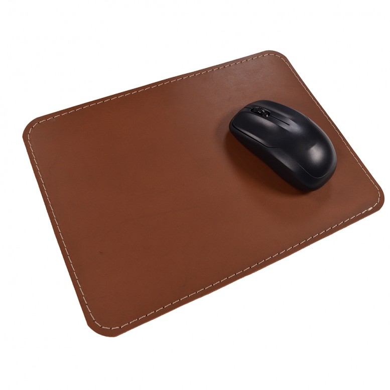 Кожаный коврик для мыши Leather Craft (cover3) Коричневый