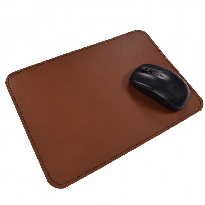 Кожаный коврик для мыши Leather Craft (cover4) Коричневый