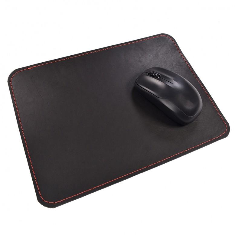 Кожаный коврик для мыши Leather Craft (cover5) Черный