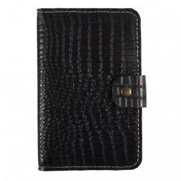 Кожаный кошелек Empire Leather Craft (WB-crkdl-1) Черный