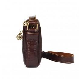 Женская сумка Empire Leather Craft (BS-Crock) Темно-коричневая