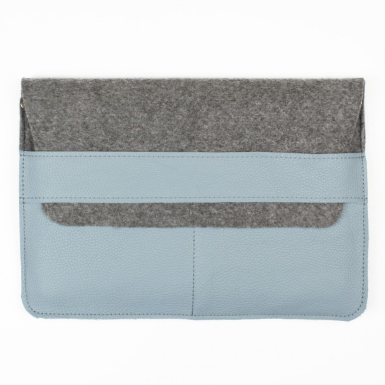 Чехол для ноутбука Apple Macbook 13,3 Empire Leather Craft (ac-4-jet) Light Blue