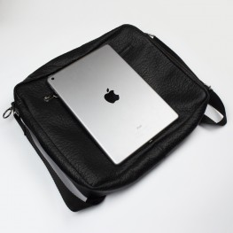 Мужская сумка Empire Leather Craft (ac-men-leather-buffalo) Черная