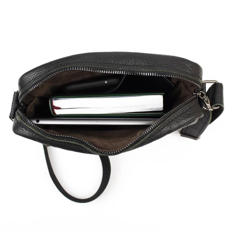 Мужская сумка Empire Leather Craft (gt-ex-v) Черная