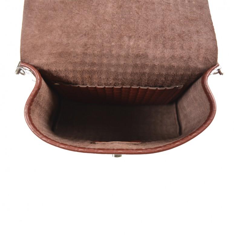 Женская кожаная сумка Royal W Deep Red
